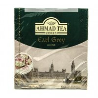 Чай черный Ahmad Tea Earl Grey в пакетиках 100 шт