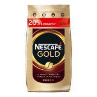 Кофе растворимый Nescafe Gold 900 г
