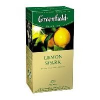 Чай черный Greenfield Lemon Spark в пакетиках 25 шт